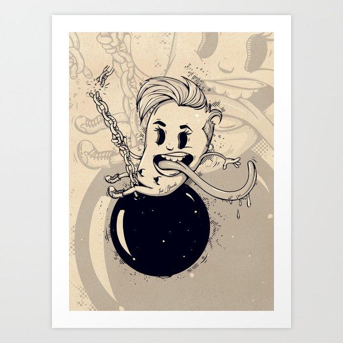 Wrecking Ball Art Print