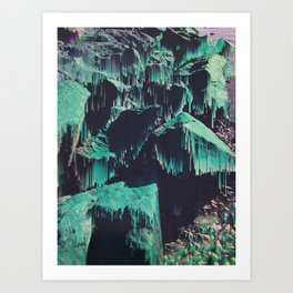 miss myntyns Art Print