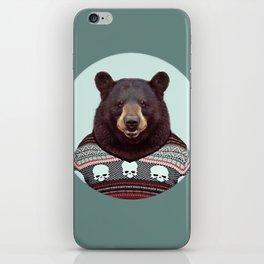 Intelligent Bear iPhone Skin