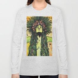 Green Goddess Long Sleeve T-shirt