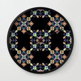 Ornamental Filigree Wall Clock