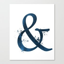 Ampersand Canvas Print