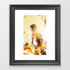 Granny Delicious Framed Art Print