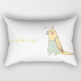 Frockatiel Rectangular Pillow