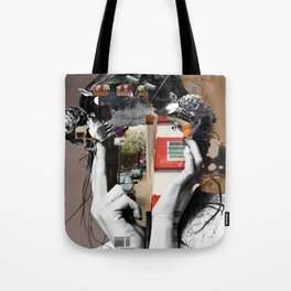 Crazy Woman - LisaLaraMix Tote Bag