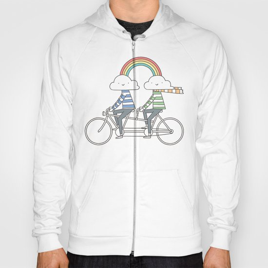 Love makes life a beautiful ride Hoody