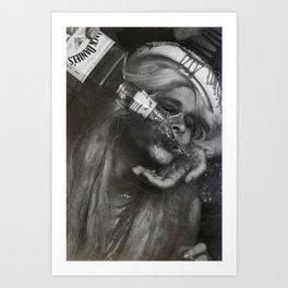 Jacky Daniel's Art Print