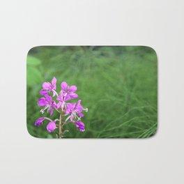 Fireweed Wildflower Bath Mat