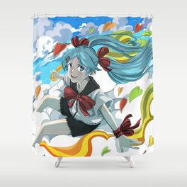 Sekiranun Grafitti Shower Curtain