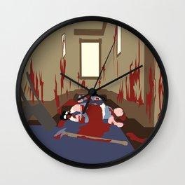 Bloody Twins Wall Clock