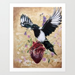 My wild heart Kunstdrucke