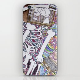 Dead Head iPhone Skin