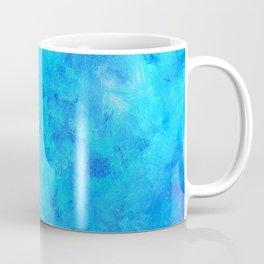 Blue abstract two Coffee Mug
