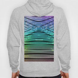 Rainbow Waves Hoody