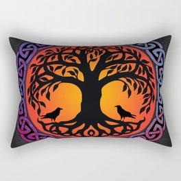 Viking Yggdrasil World Tree Rectangular Pillow