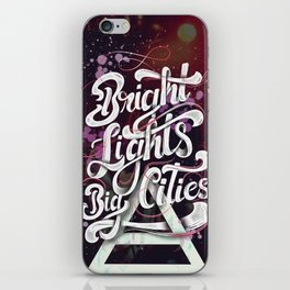 Bright Lights   30 Seconds To Mars iPhone Skin