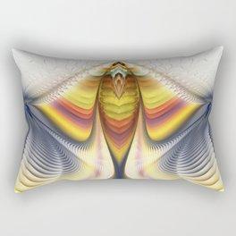 Fractal Waves 2 Rectangular Pillow