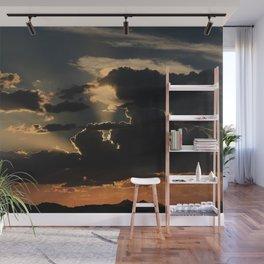 Desert Mountain Sunset IV Wall Mural