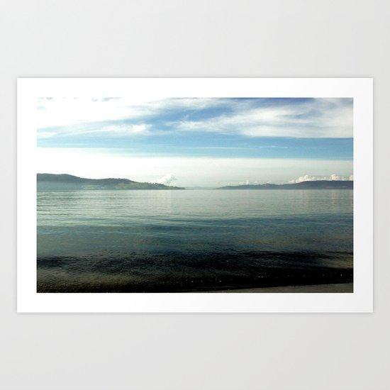 Cynet Bay Art Print
