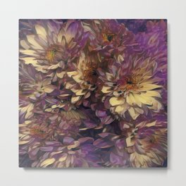 Sun Kissed Flowers Metal Print