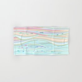 Whimsical fishy sky and sea Hand & Bath Towel