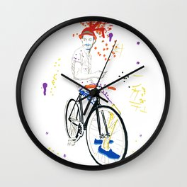 Bicycle Another Life-Cycle Wall Clock