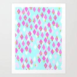 Dialectical Diamond Art Print