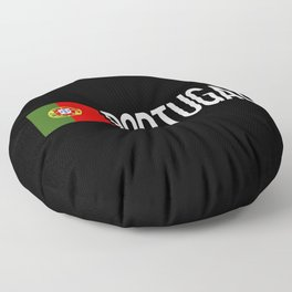 Portugal: Portuguese Flag & Portugal Floor Pillow