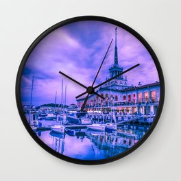 Marine station of Sochi Wall Clock