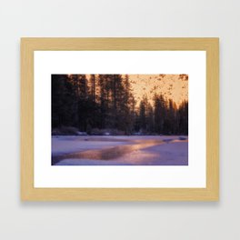 Daydreaming at Castle Lake Northern California Framed Art Print