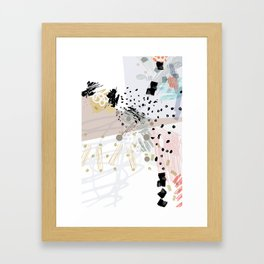 My Silent thoughts Framed Art Print