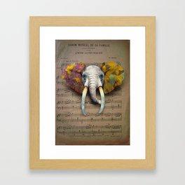 Couleurs d'automne Framed Art Print