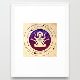 Shiva Teriyaki Framed Art Print