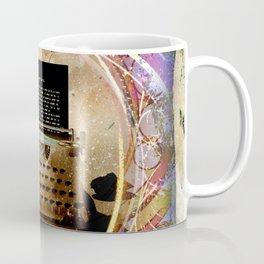 Typewriter Fairytale Coffee Mug