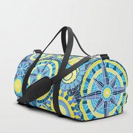 Mosaic Pinwheels Duffle Bag