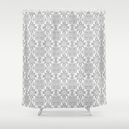 Dull and Grey  Shower Curtain