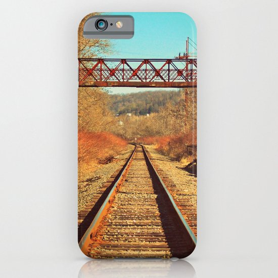 On The Right Track iPhone & iPod Case
