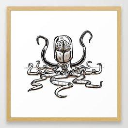 Tentacled Terror Framed Art Print