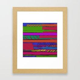 Urban shift Framed Art Print