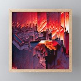 i_built_a_machine_to_help_me_understand_death Framed Mini Art Print