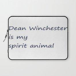 Dean Winchester Is My Spirit Animal (Supernatural inspired) Laptop Sleeve