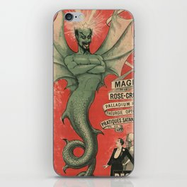 Old Sign / Le Diable iPhone Skin