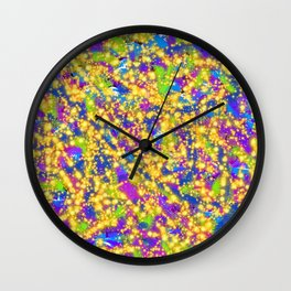 You Got Blinded by the Light Wall Clock