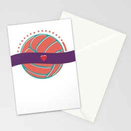 Volleyball Love Stationery Cards