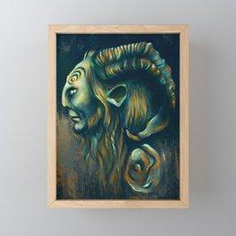Fauno Framed Mini Art Print