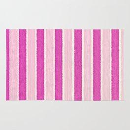 Pink Stripes Rug