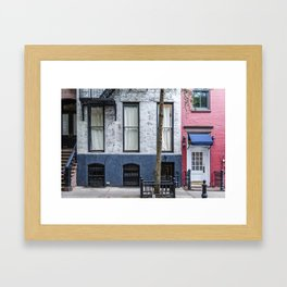 Old Greenwich Village apartment Framed Art Print