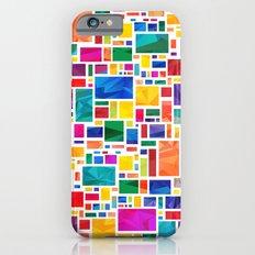 Polygonal Map iPhone 6s Slim Case