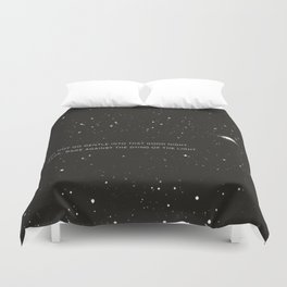 Do not go gentle into that good night.... Duvet Cover