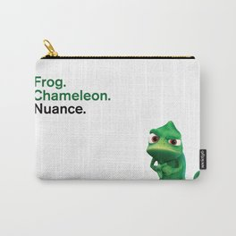 Nuance - Tangled - White Carry-All Pouch